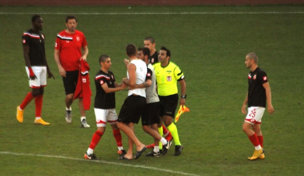 Afyonkarahisar'da hazırlık maçı yarıda kaldı