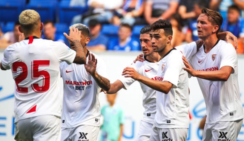 Hazırlık maçında Sevilla Hoffenheim'ı geçti, gol Banega'dan geldi!