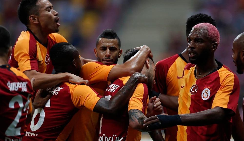 Galatasaray, Süper Kupa maçına hazır: 2-1!
