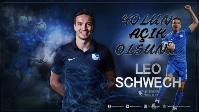 BB Erzurumspor'da Leo Schwechlen'e veda mesajı