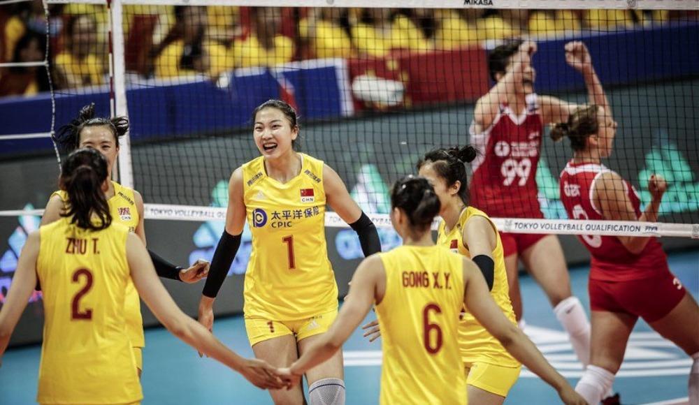A Milli Kadın Voleybol Takımı, Çin'e mağlup oldu