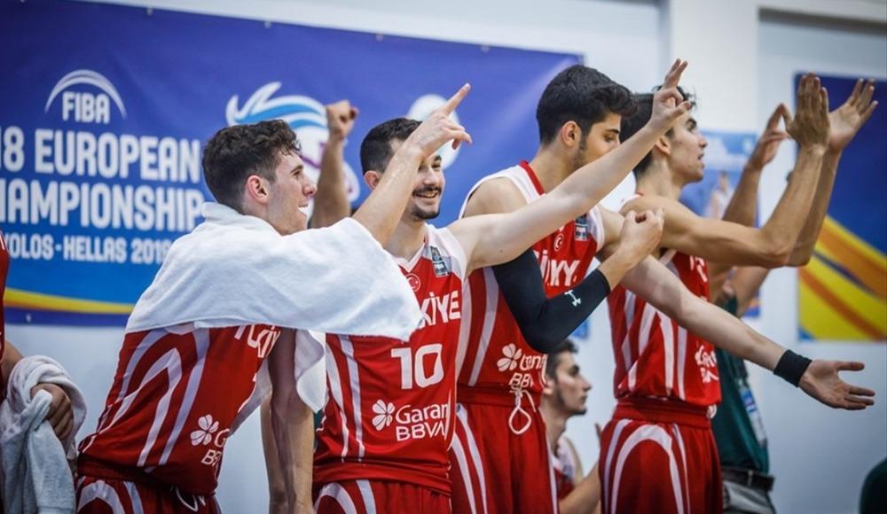 U18 Milli Takımımız, Avrupa ikincisi