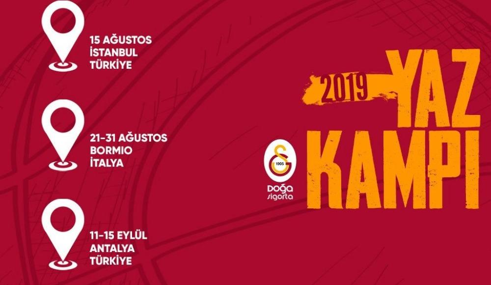 Galatasaray Doğa Sigorta'nın kamp programı belli oldu