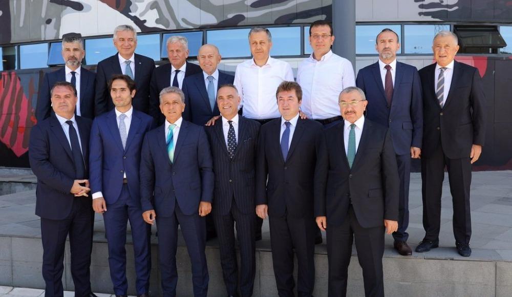 Ali Yerlikaya ve Ekrem İmamoğlu'ndan Nihat Özdemir'e ziyaret