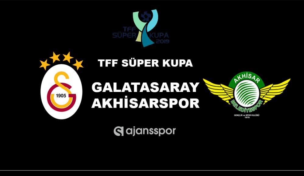 Akhisarspor - Galatasaray (Canlı Skor)