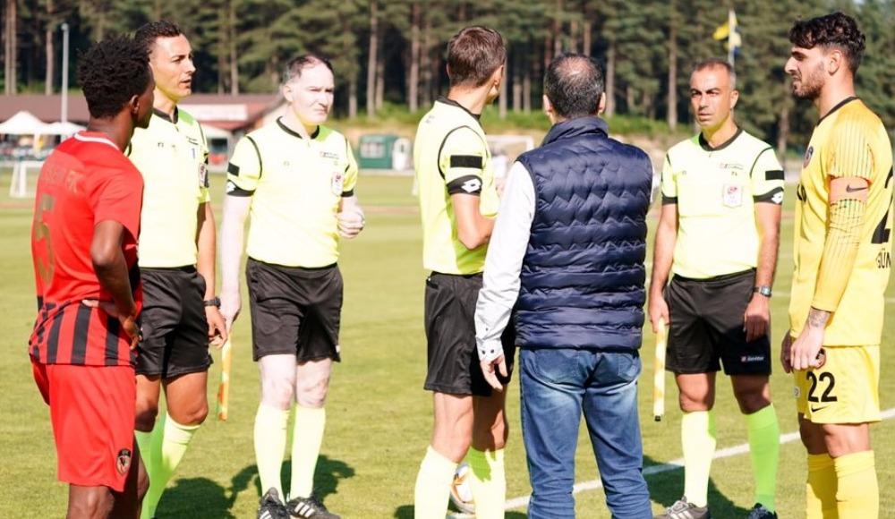 Gazişehir Gaziantep - El-Wakrah hazırlık maçı yarıda kaldı