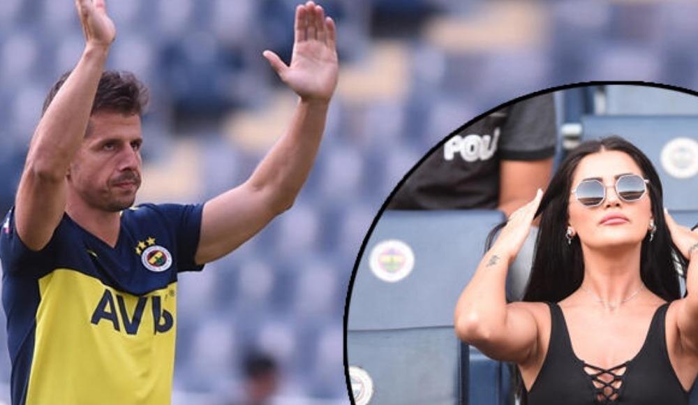 Fenerbahçe-Cagliari maçında dikkat çeken görüntü