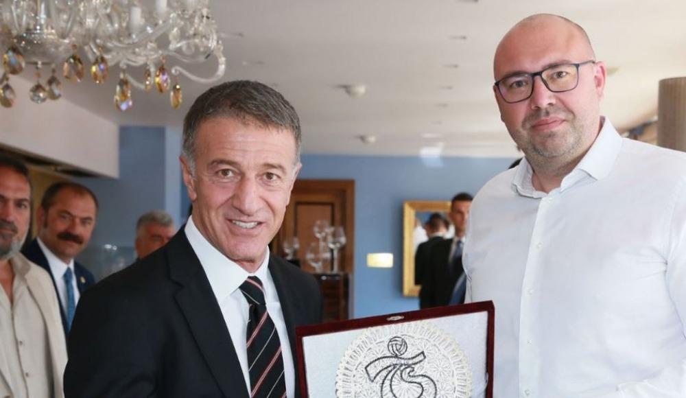 Trabzonspor ile Prag yöneticileri yemekte buluştu