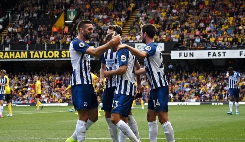 Brighton'dan 3 gollü başlangıç!