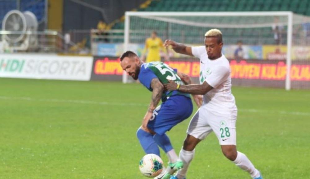 Giresunspor, Rizespor'u tek golle geçti