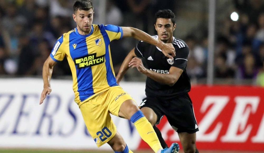 APOEL Nicosia, Qarabağ Ağdam'ı yendi turladı