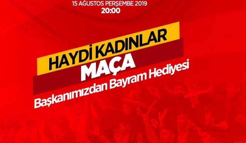 Yeni Malatyaspor'dan 300 kadın taraftara kağıt bilet hediye