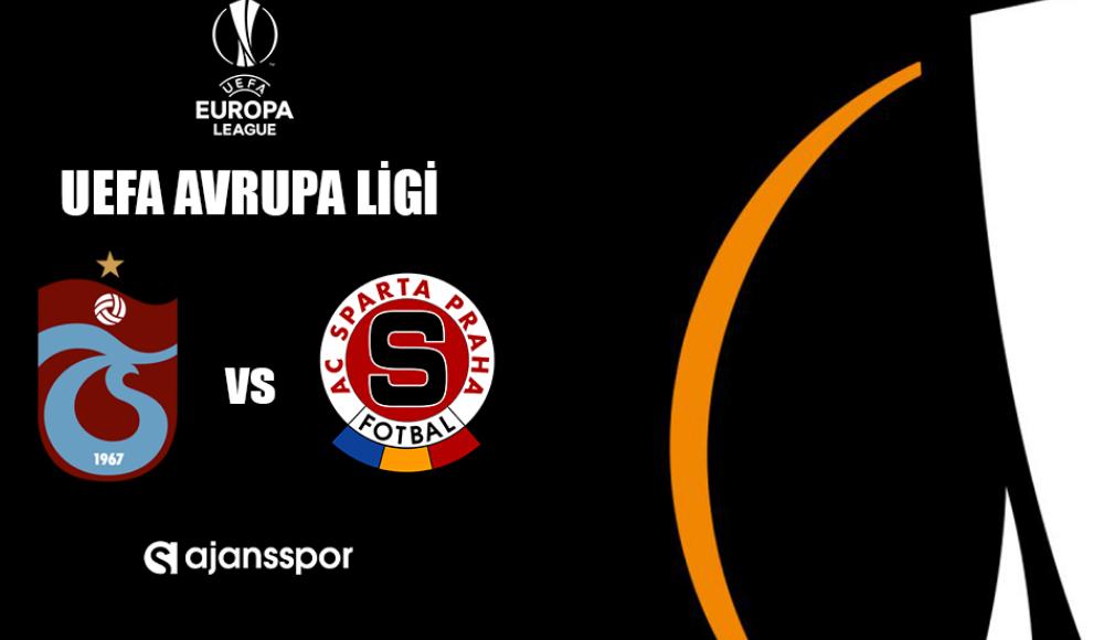 Trabzonspor - Sparta Prag (Canlı Skor)
