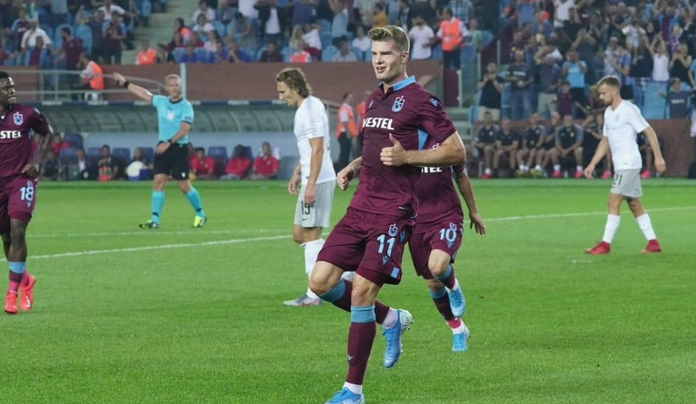 Trabzonspor'un rakibi AEK