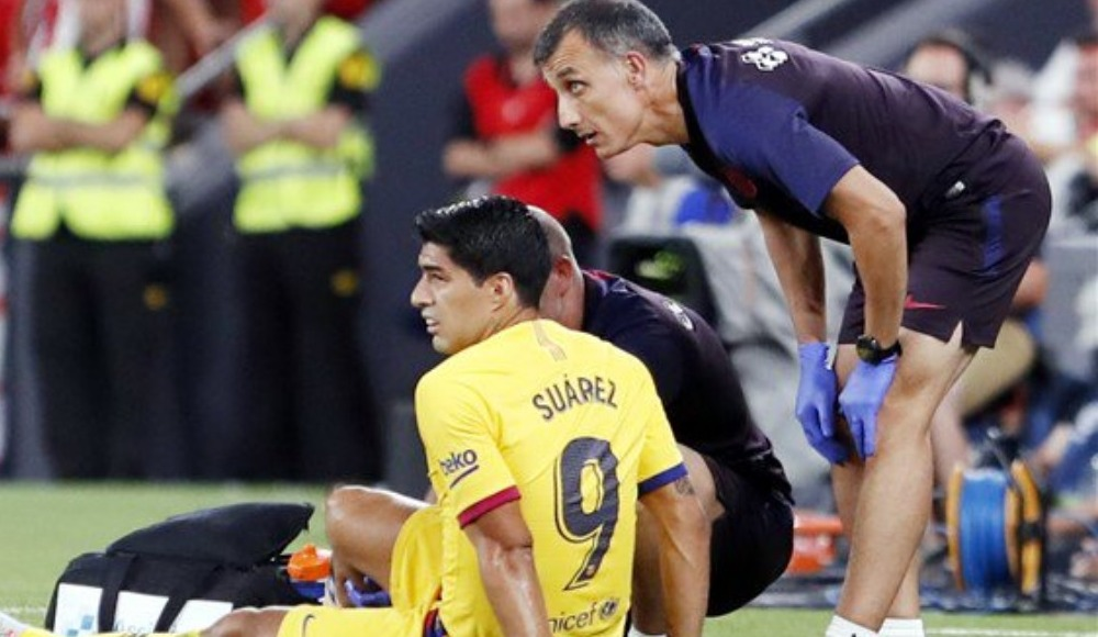 Luis Suarez 1 ay yok