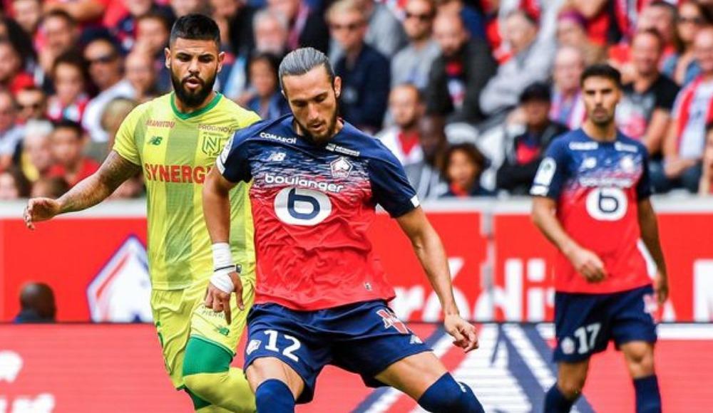 Yusuf Yazıcı ve Zeki Çelik, Amiens maçında ilk 11'de