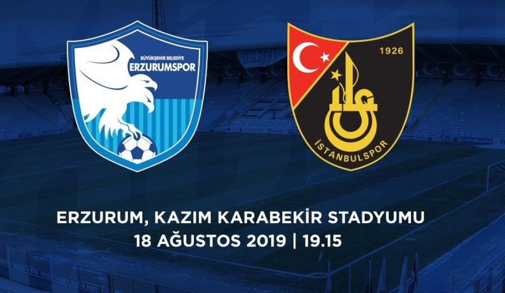 BB Erzurumspor - İstanbulspor (Canlı Skor)