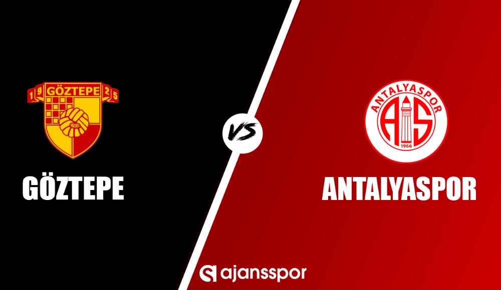 Göztepe - Antalyaspor (Canlı Skor)