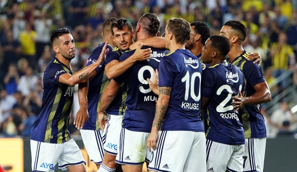 Fenerbahçe'den Kadıköy'de resital: 5-0!
