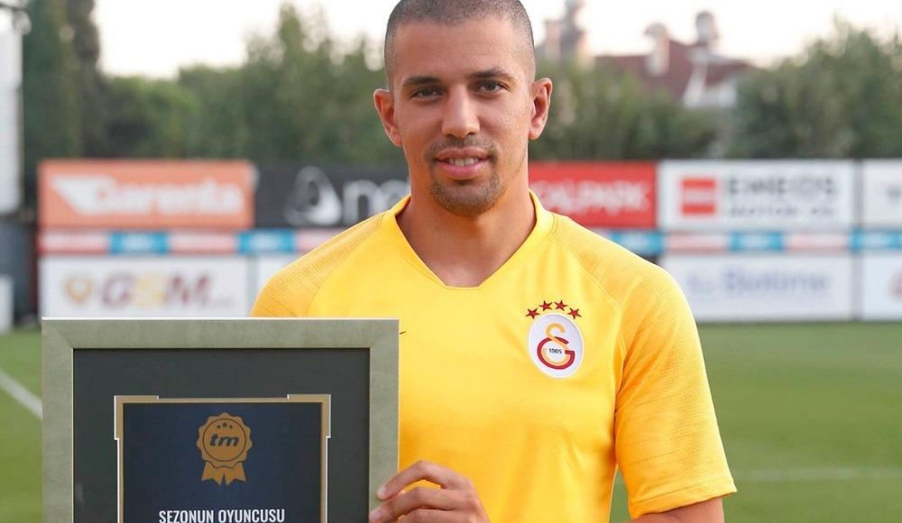 Feghouli sezonun en iyi oyuncusu unvanına layık görüldü