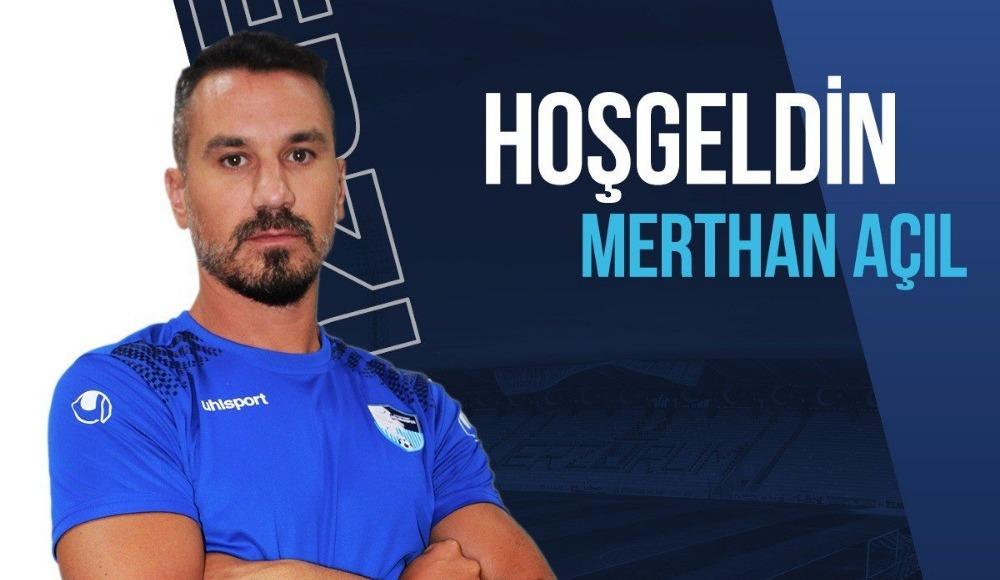 BB Erzurumspor, Merthan Açıl transferini açıkladı