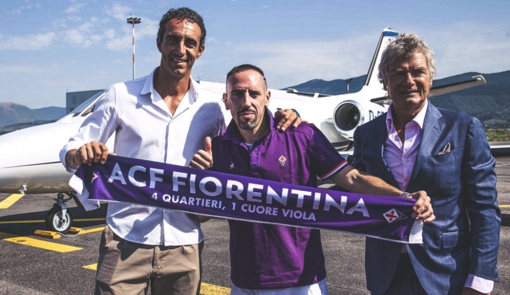Franck Ribery resmen Fiorentina'da!