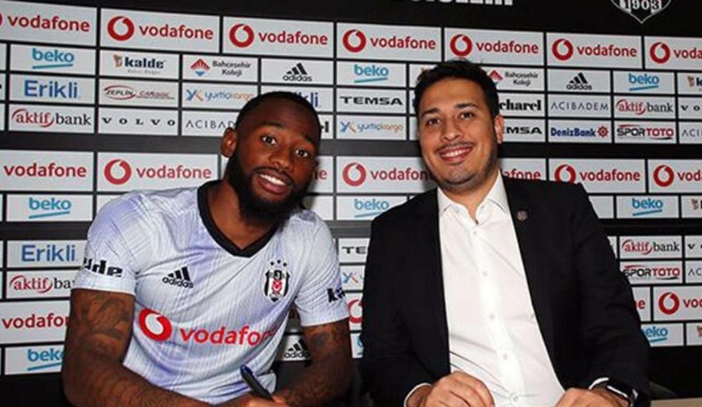 N'Koudou Beşiktaş'la ilk antrenmanına çıktı
