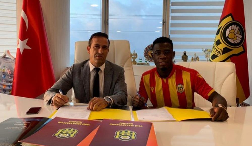 Yeni Malatyaspor, Afriyie Acquah ile 2+1 yıllık sözleşme imzaladı
