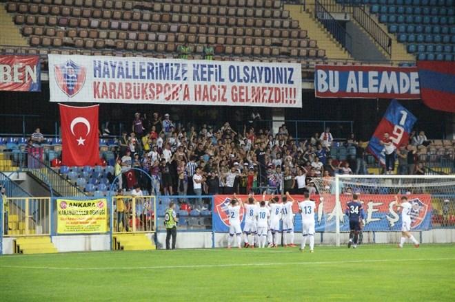 Karabükspor hazırlık maçında Kastamonuspor'u 3 golle geçti