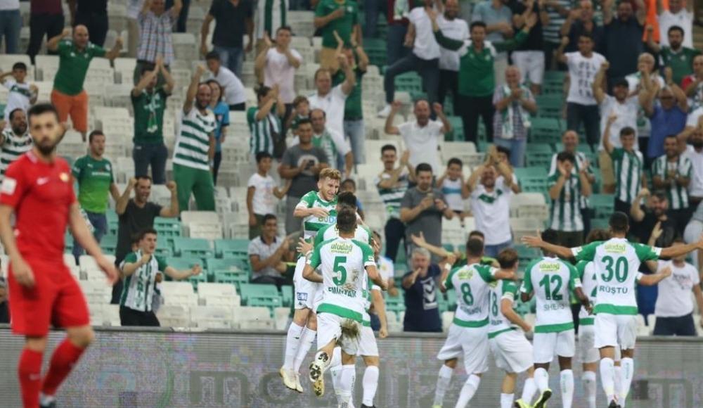Bursaspor - Osmanlıspor (Canlı Skor)