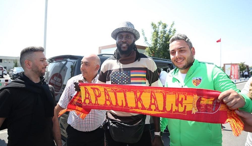 Adebayor, Kayseri'de