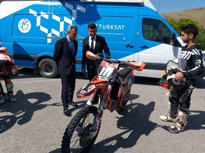 Türksat Dünya Motokros Şampiyonası'na sponsor oldu