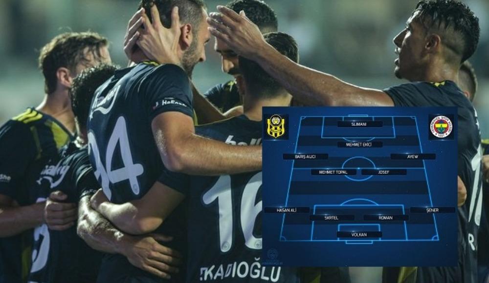 Fenerbahçe'de inanılmaz değişim! Geçen sezon 2.haftada ilk 11 oynayan hiçbir oyuncu Başakşehir...