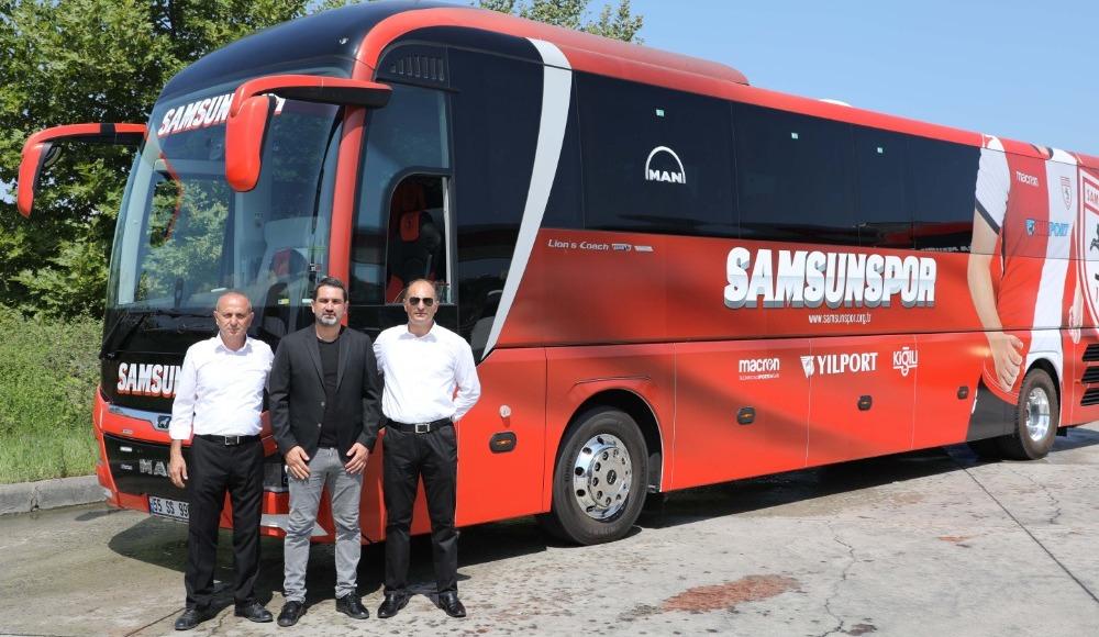 Samsunspor'un yeni otobüsü geldi