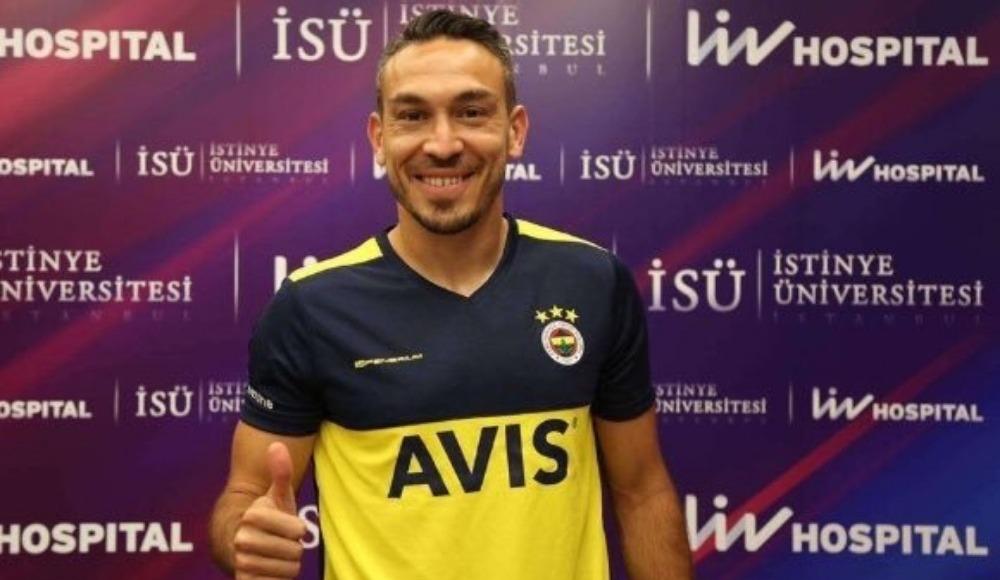 Mevlüt Erdinç Fenerbahçe formasını giydi