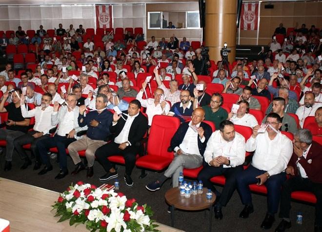 Antalyaspor Kulübü Derneği'nden voleybol takımı için genel kurul kararı