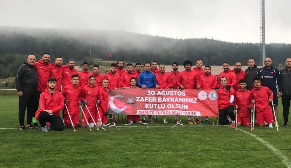 Ampute Milli Futbol Takımı'nın Düzce kampı başladı