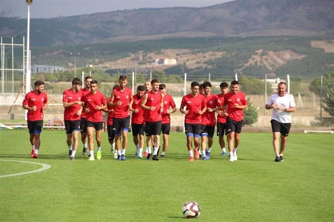 Karabükspor'da Sivas Belediyespor maçı hazırlıkları tamamlandı