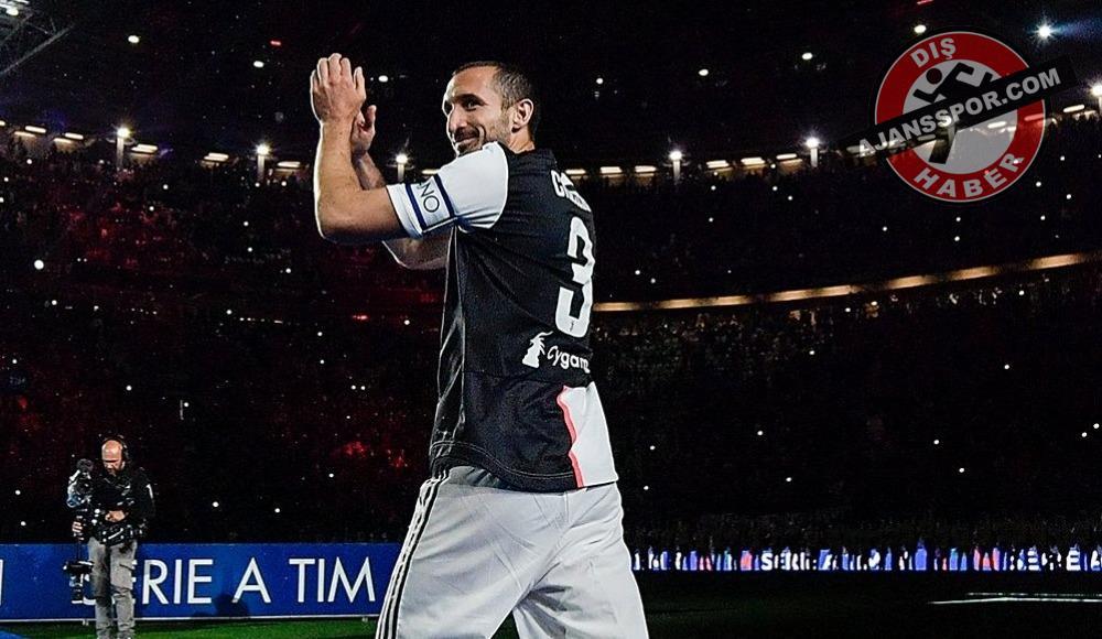 Juventus'ta ön çapraz bağlarından sakatlanan Chiellini 5 ay yok