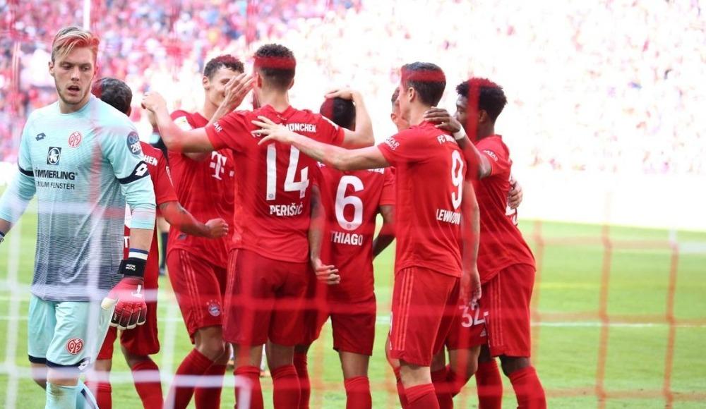 Bayern Münih, sahasında Mainz'ı gole boğdu! 6-1