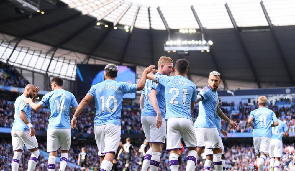 Manchester City'den rahat galibiyet! 4-0