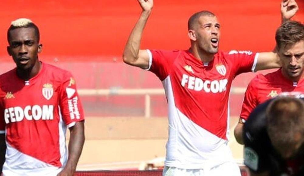 Islam Slimani, Monaco ile gollerine devam ediyor