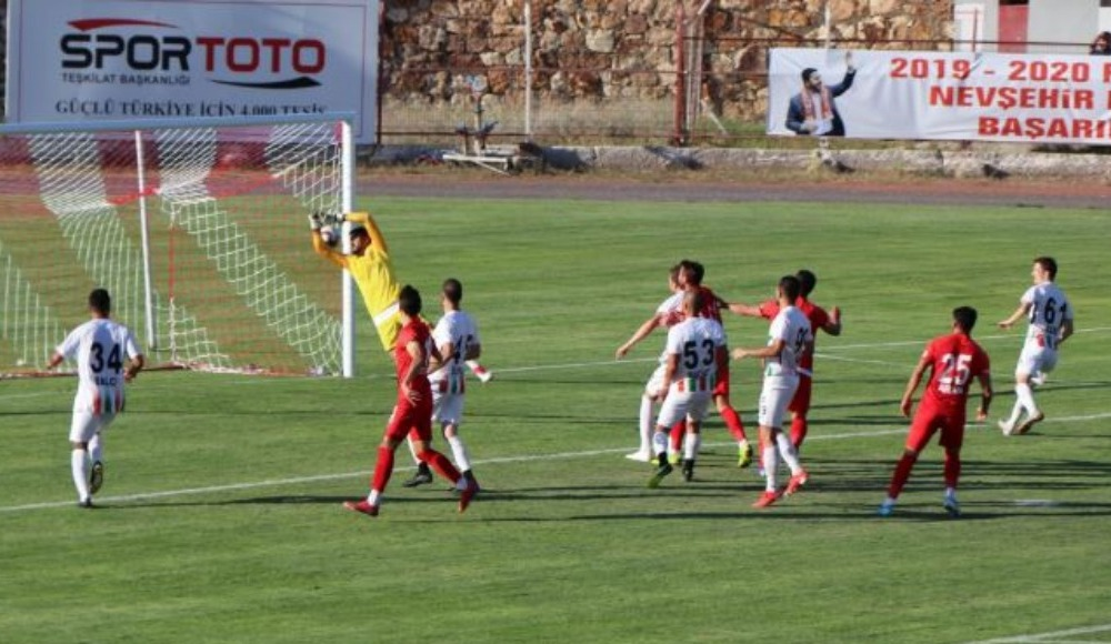Nevşehir Belediyespor ile Diyarbekirspor yenişemedi