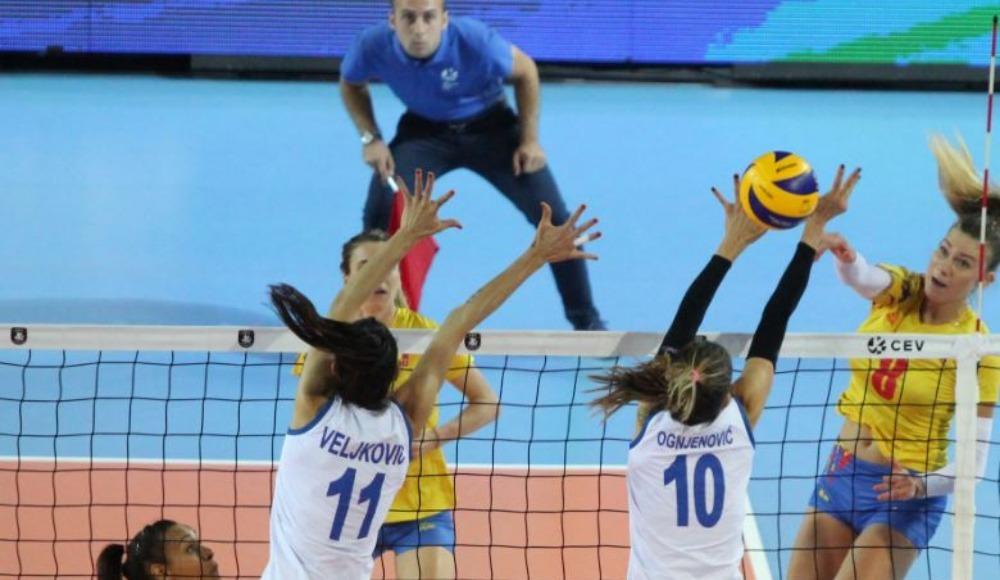Son şampiyon Sırbistan, Romanya'ya şans tanımadı