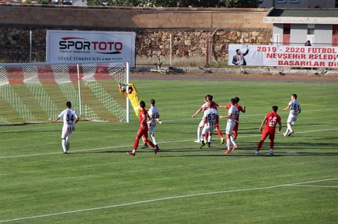 Nevşehir Belediyespor, sahasında Diyarbekirspor ile berabere kaldı