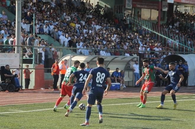 Cizre Spor, sahasında Kemer Spor 2003'ü yendi