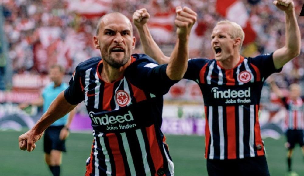 Eintracht Frankfurt, son dakikalarda attığı golle kazandı