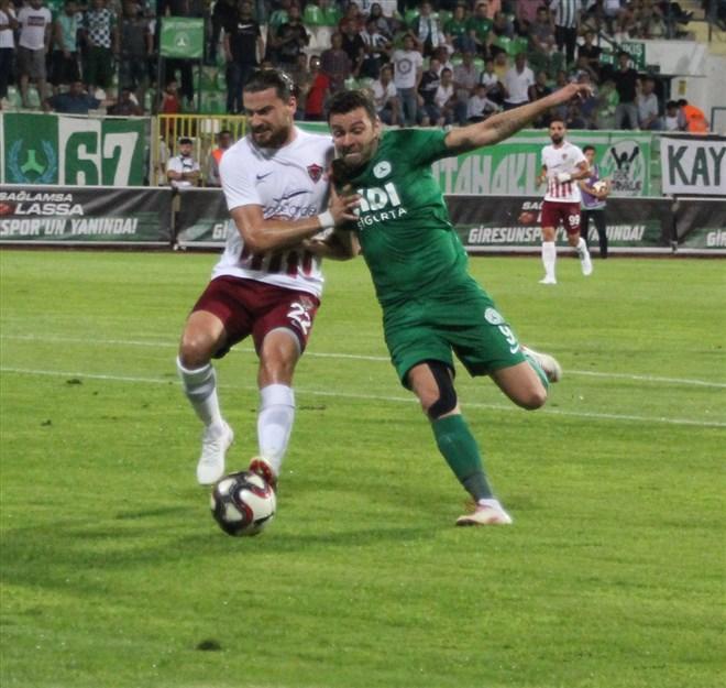 Giresunspor, sahasında Hatayspor ile yenişemedi! 2-2