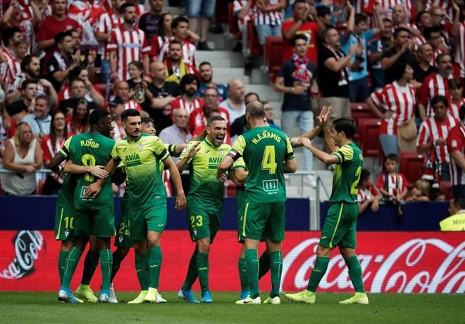 Atletico Madrid, sahasında Eibar'ı 3-2 mağlup etti