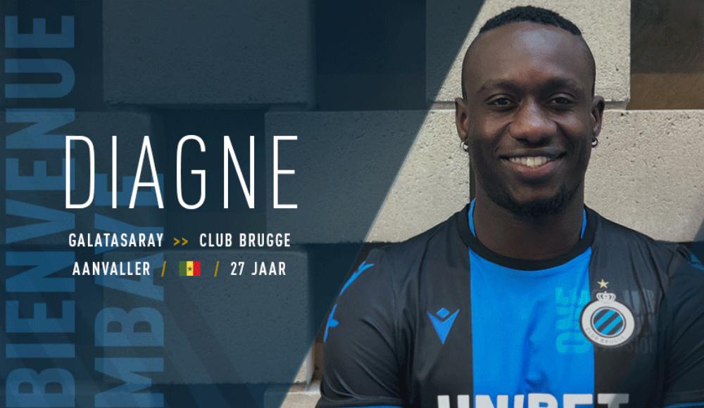 Ve Diagne resmen Club Brugge'de! İşte anlaşma detayları...